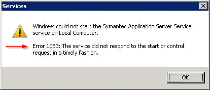 how to fix error 1053 service timely fashion