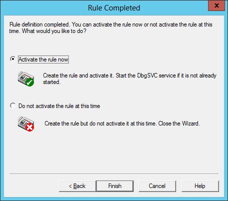 DebugDiag: Activate Now