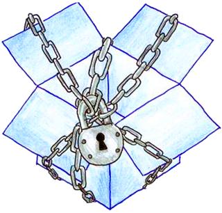 Dropbox locked up