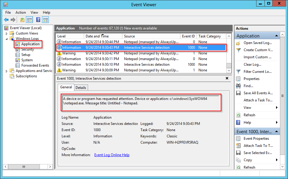 How to use the Event Viewer to troubleshoot Windows Services