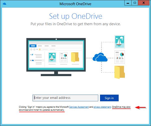 OneDrive Installation