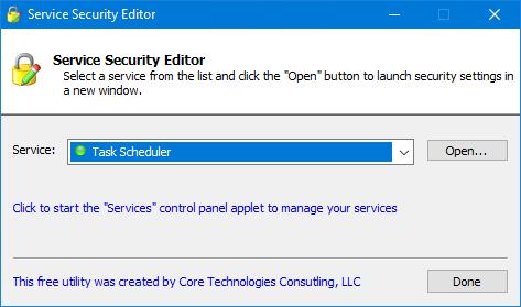 Essential Windows Services: Schedule / Task Scheduler | The