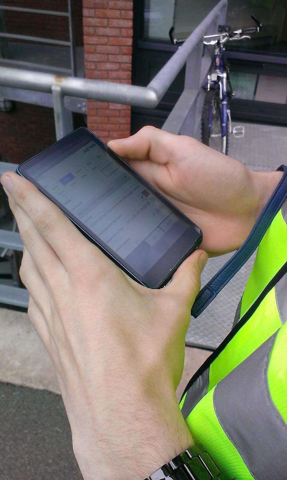 Tracker Mobile helps asbestos sampling in the field