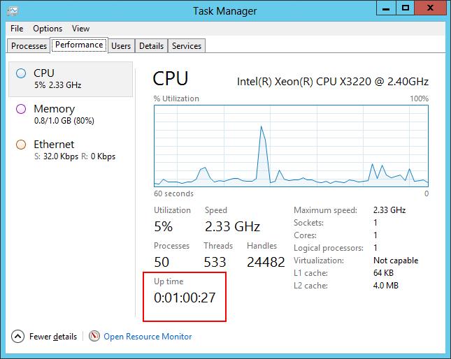 When did my Windows Service Start? | The Core Technologies Blog