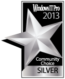 Windows IT Pro Best Utility 2013 Silver Medal - AlwaysUp