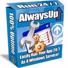 Run as a Service with AlwaysUp