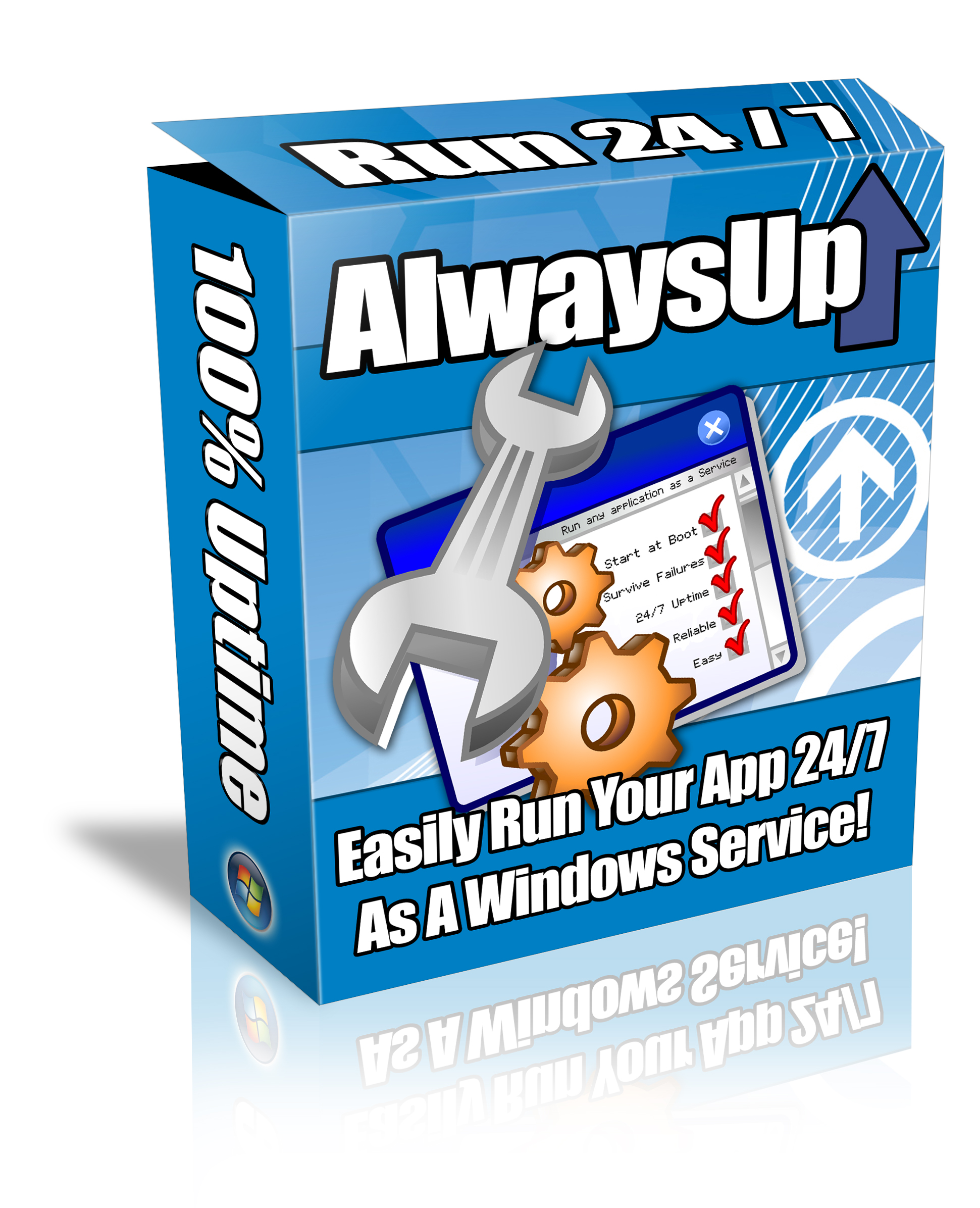 Run Any Application as a Windows Service at Boot | AlwaysUp