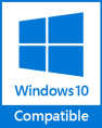 Compatible with Windows 10 (32 & 64-bit)