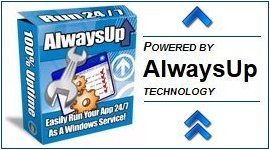 Powered by AlwaysUp Technology