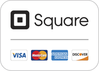 Square accepts all major credit cards