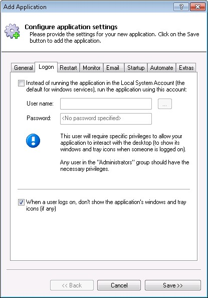 How to Run any Java application as a Windows Service (8/2012