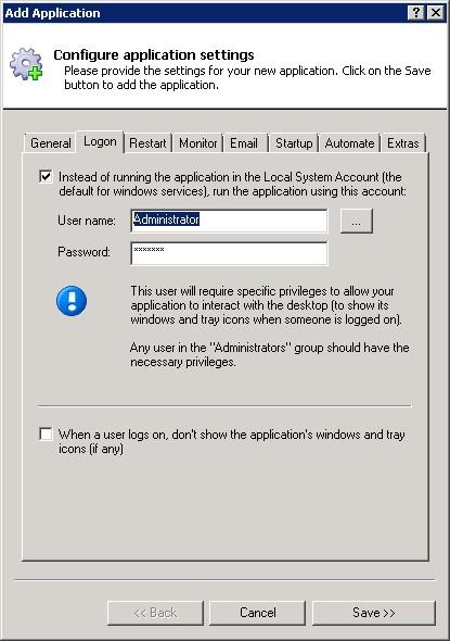 How to Run Apache Derby as a Windows Service (8/2012/7/2008