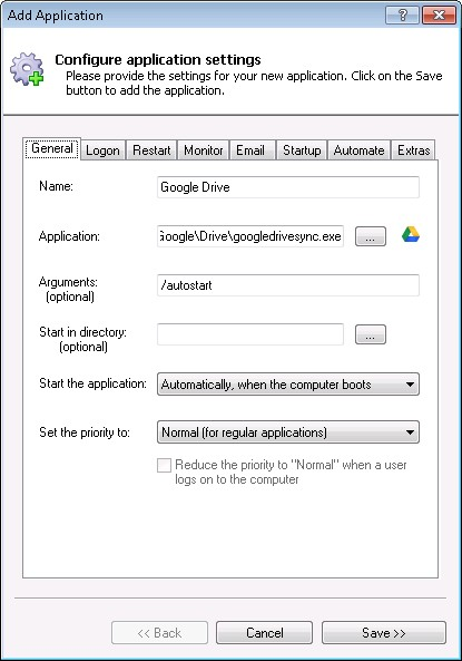 download google drive for windows server 2012