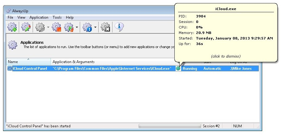 icloud control panel for windows vista download