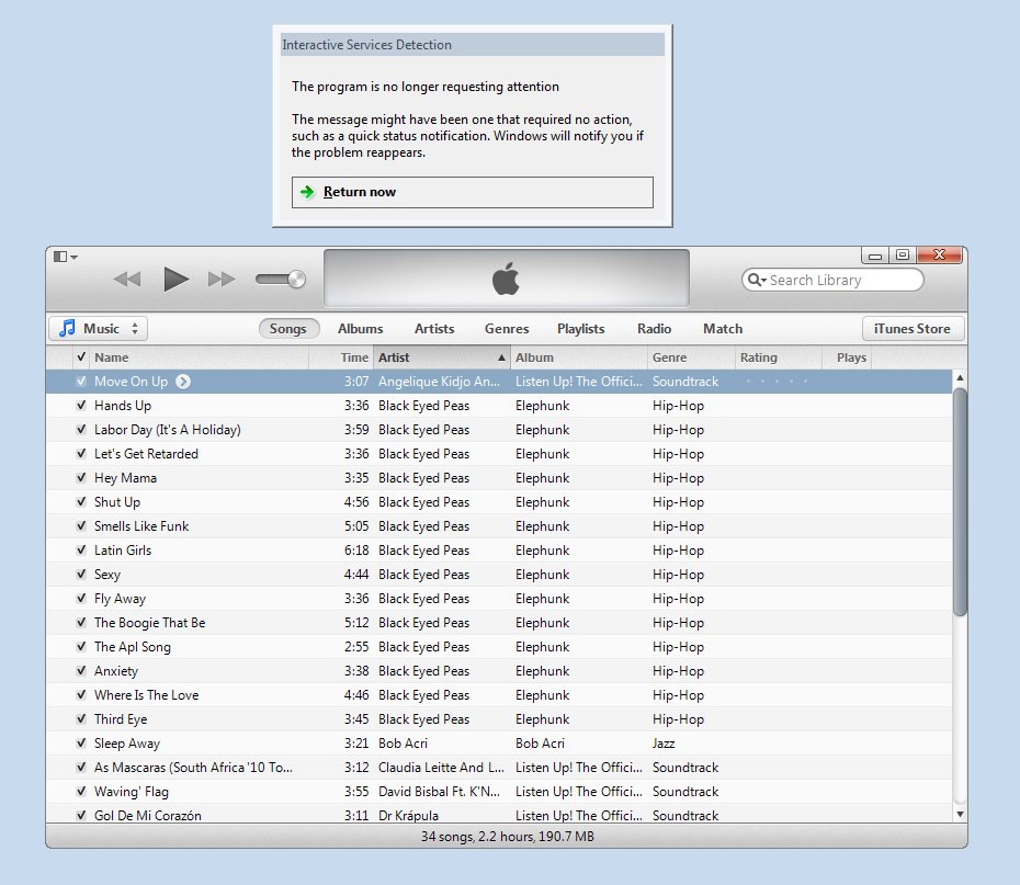 Itunes 2012 Pour Windows 7
