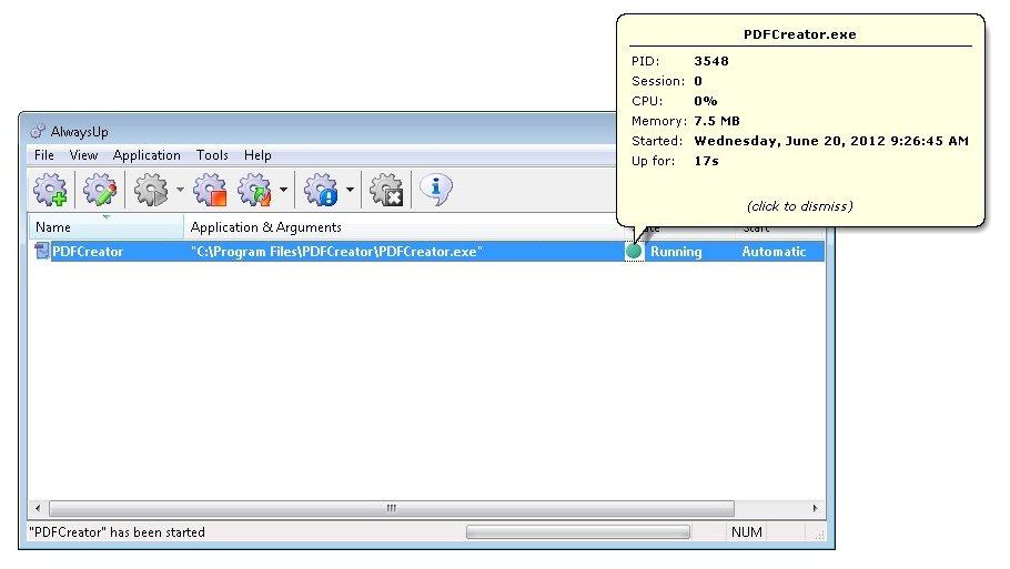 How to Run PDFCreator as a Windows Service (8/2013/7/2008
