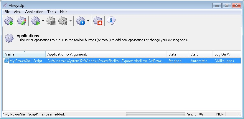 How to run any PowerShell Script (* PS1) as a Windows 7/2008