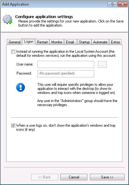 How to run TShark/Wireshark as a Windows 10/2016/8/7/2008