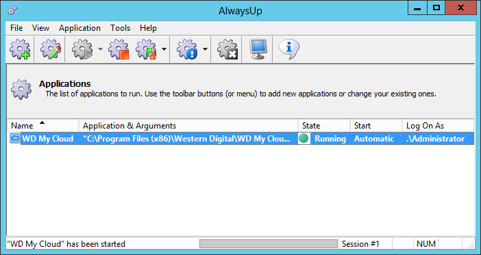 How to Run WD My Cloud as a Windows Service (8/2012/7/2008/Vista