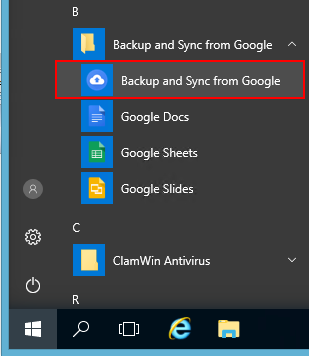 How to Run Backup and Sync 24/7 as a Windows Service (2019