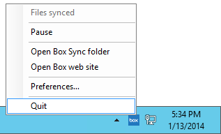 How to Run Box Sync as a Windows Service (8/2012/7/2008