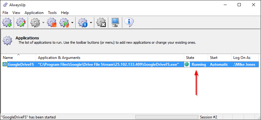 how to enable google drive file stream