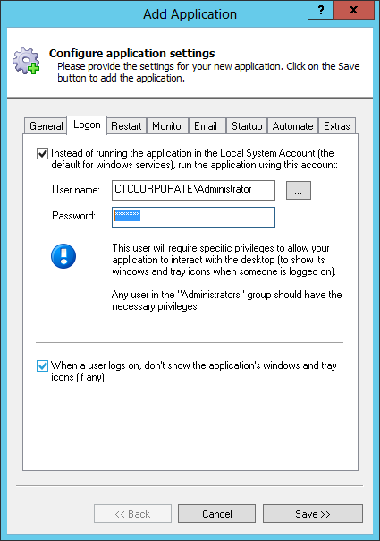 How to install Logstash as a Windows 2016/10/2012/8/2008/7 Service