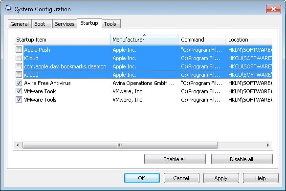 how to use msconfig windows 7
