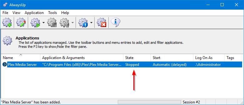 How to Run Plex Media Server as a Windows Service (2019/10