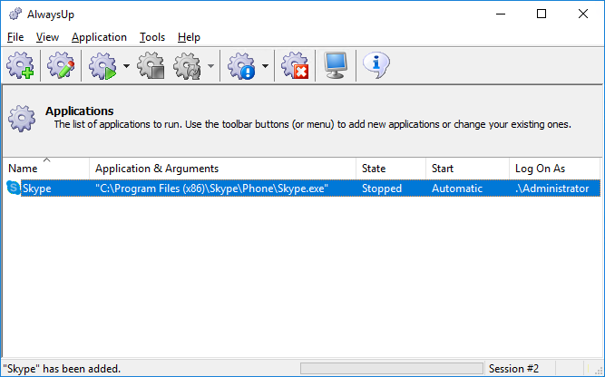 How to Setup Skype as a Windows Service | AlwaysUp