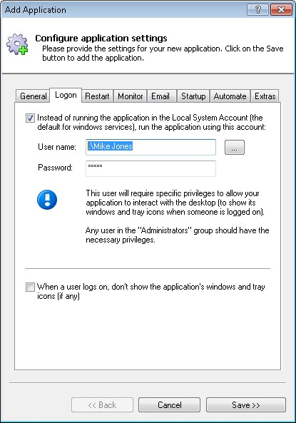 How to Run a Dart Script as a Windows Service (8/2012/7/2008/Vista