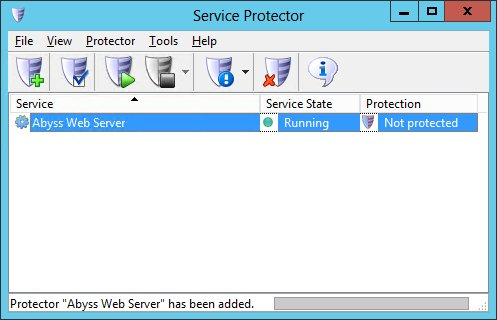 How to Keep Abyss Web Server Windows Service Running even if