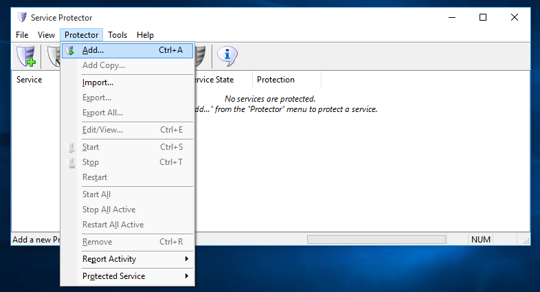How to Keep the Yawcam Windows Service Running even if it stops