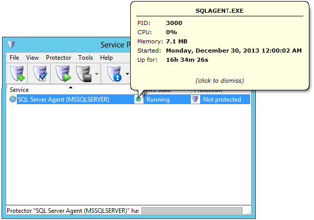 Auto restart sql server agent windows service service for Consul server vs agent