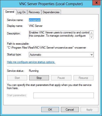 Automatically Restart VNC Windows Service | Service Protector