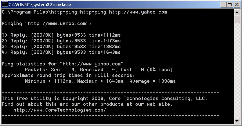 http-ping - HTTP,ping,web server,apache,IIS - http-ping probes a given URL and displays relevant statistics.
